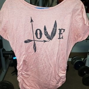 s&s Tops - Vintage rustic love t shirt